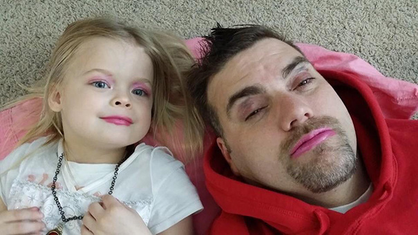My Friend Let His Daughter Give Him A Makeover
