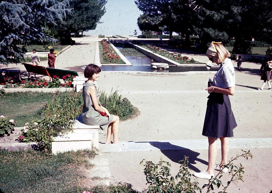 Young Photographer At Paghman Gardens
