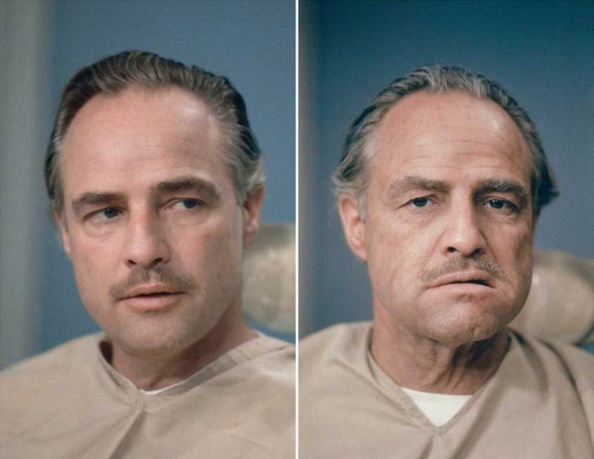 313405-650-1457296842-Marlon-Brando-before-and-after-getting-his-make-up-done-to-be-Don-Vito-Corleone-in-The-Godfather