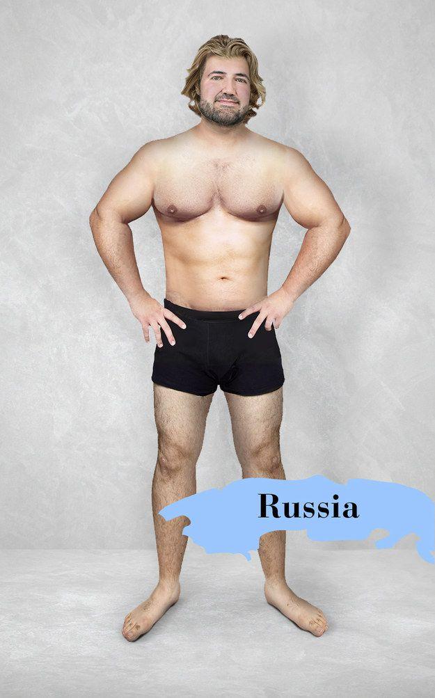 Ako vyzerá mužský ideál krásy v krajinách po svete? Muž to vyskúšal na sebe vďaka Photoshopu a dobrovoľníkom