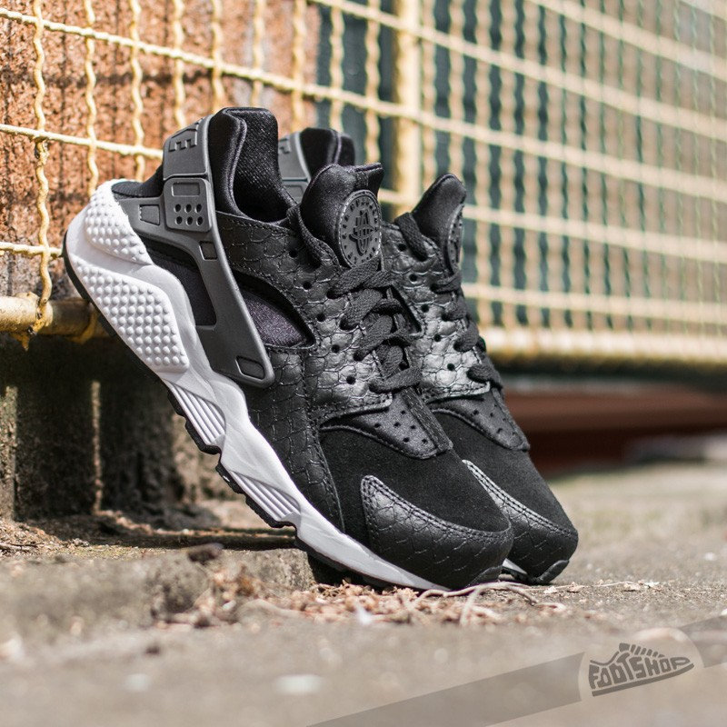 nike-air-huarache-run-premium-black-dark-grey-white