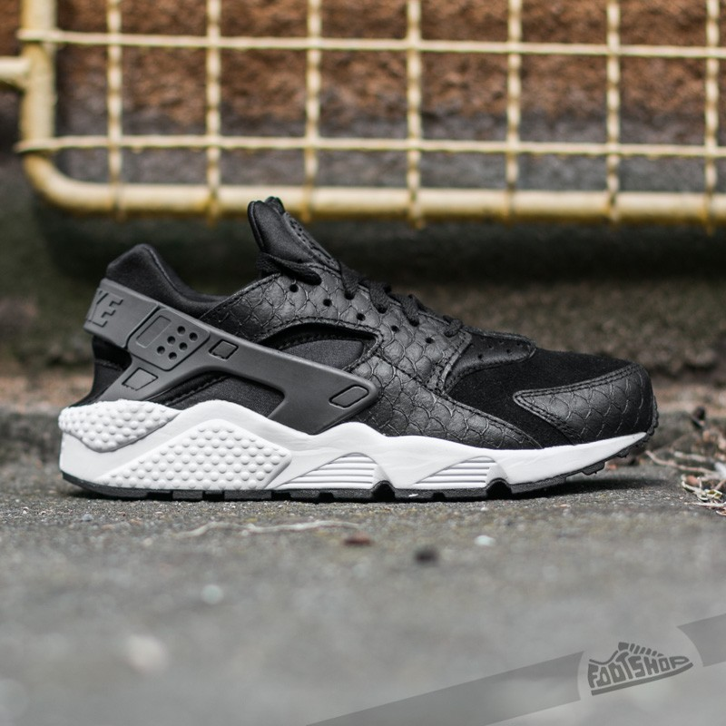 nike-air-huarache-run-premium-black-dark-grey-white (1)