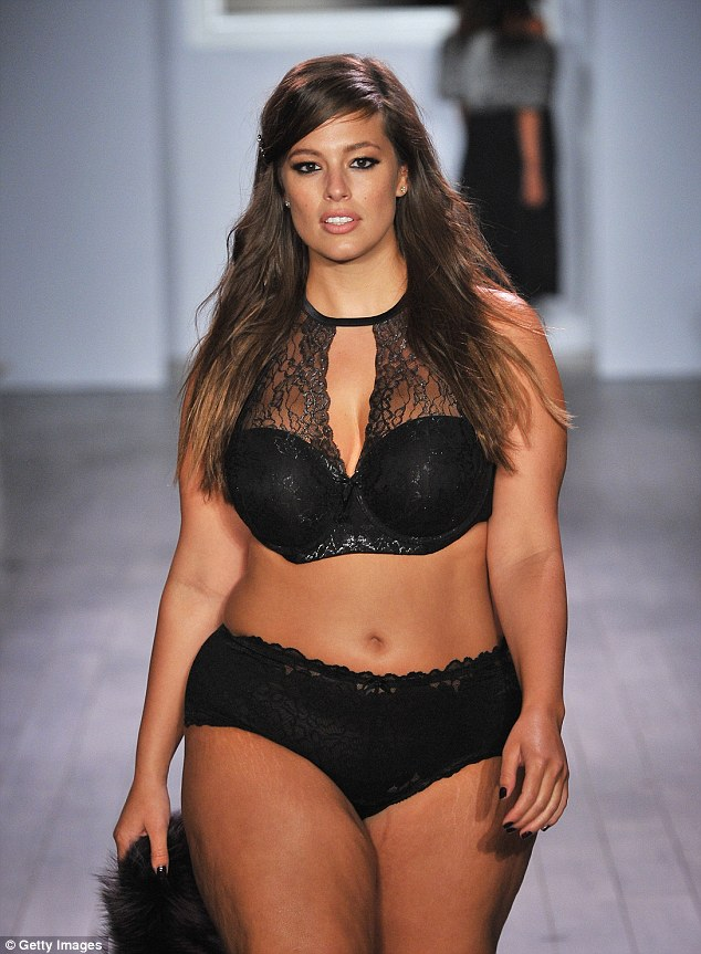 Ashley Graham - plus size modelka