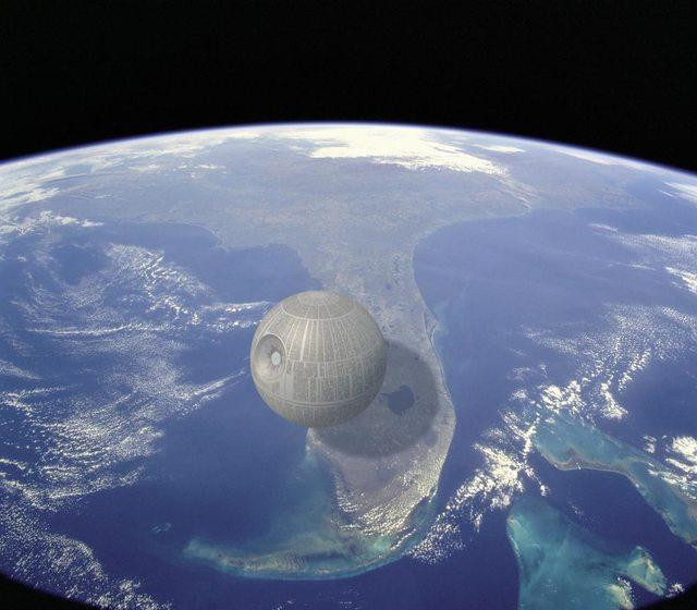 Death Star, alebo Hviezda smrti z Hviezdnych vojen, síce neexistuje, no v opačnom prípade by bola najväčším skonštruovaným strojom. Ak by sa inširovala filmovou predlohou, na šírku by podľa odhadov mala okolo 159 kilometrov, čo je štvrtina dĺžky Floridy.