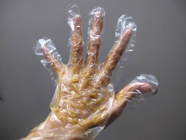 oatmeal honey hand mask