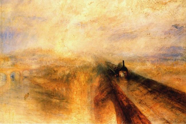 Rain, Steam and Speed — The Great Western Railway', J. M. W. Turner, 1844
