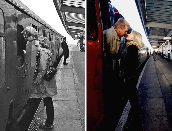 Railway Kiss (1980 And 2009)