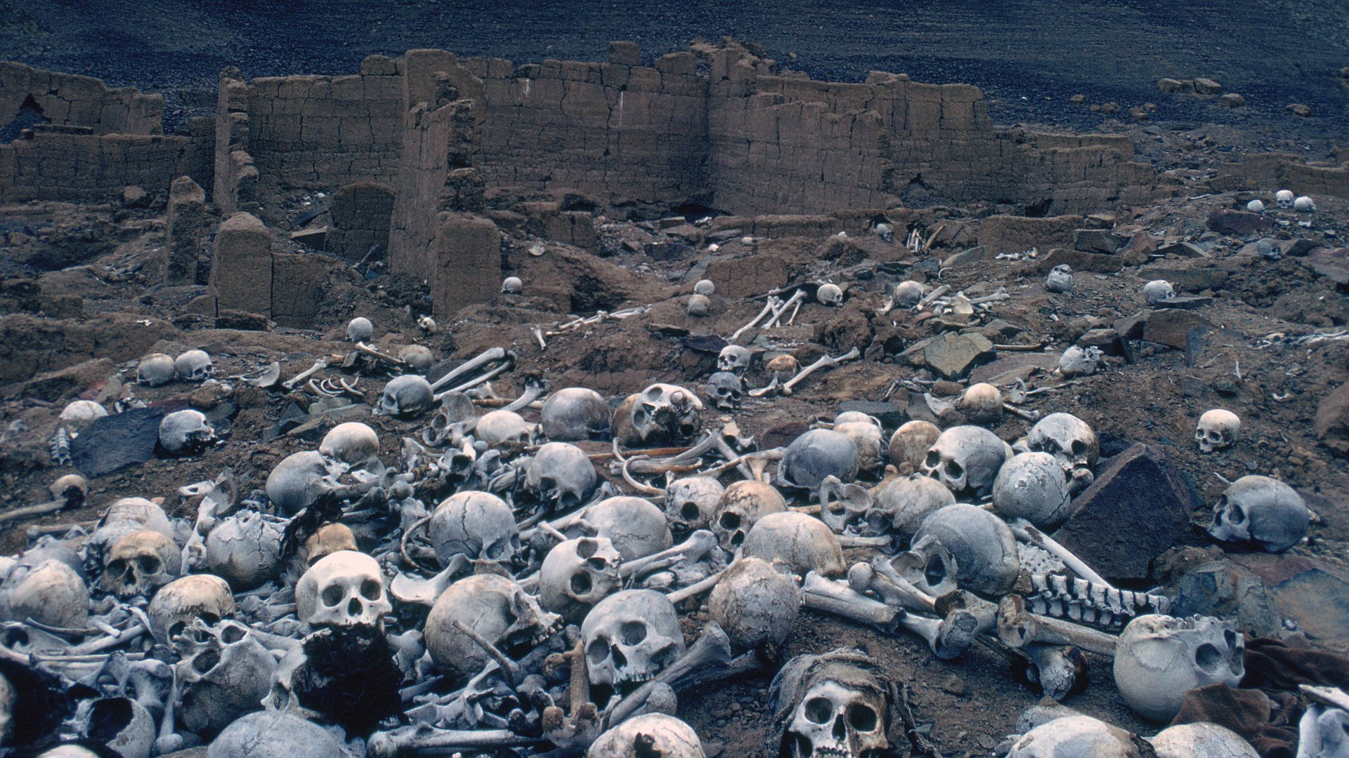 Mandatory Credit: Photo by Stock Connection/REX/Shutterstock (2363962a) Pre - Inca cemetery, Peru. VARIOUS