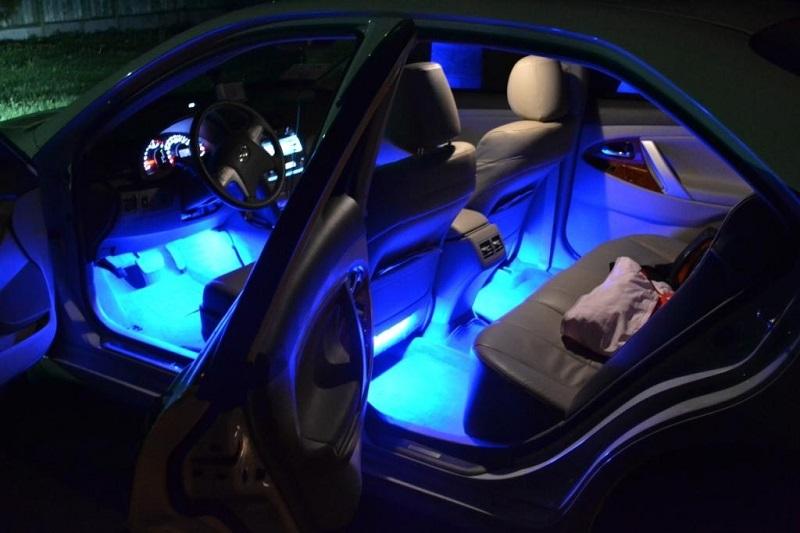 Как сделать подсветку авто