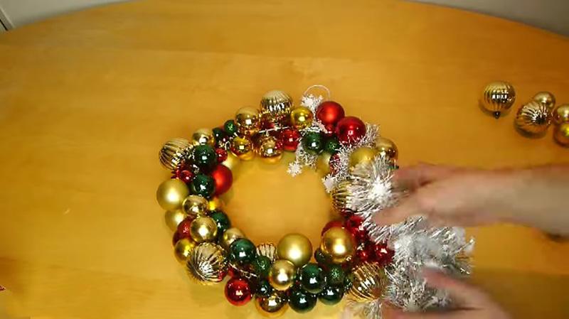 рождественский венок заготовка