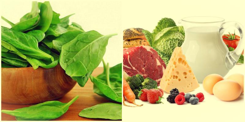 продукты с фолиевой кислотой и b12