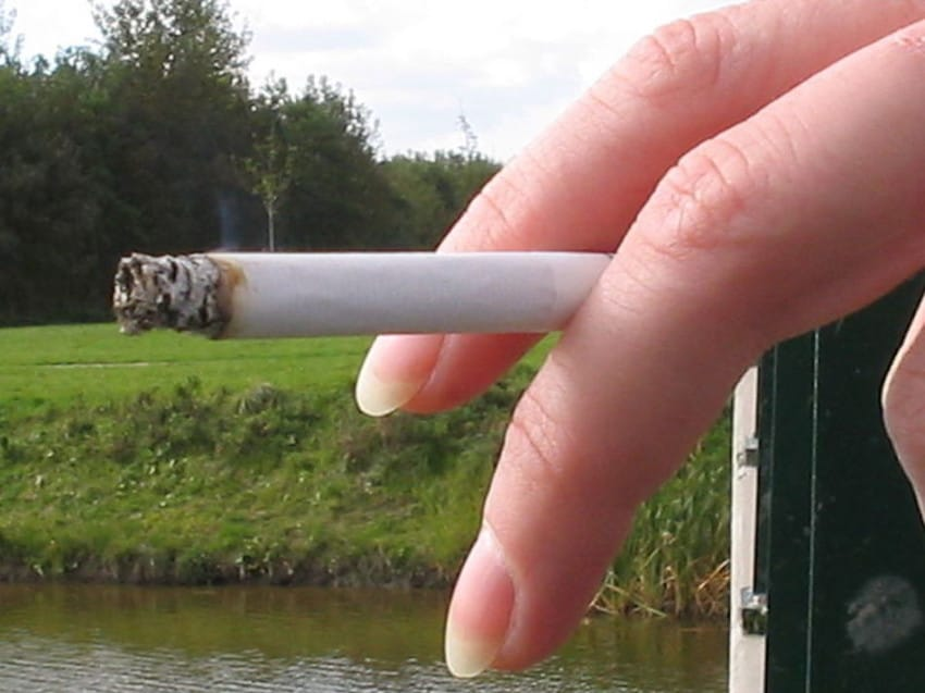 5. Smoke Cigarettes