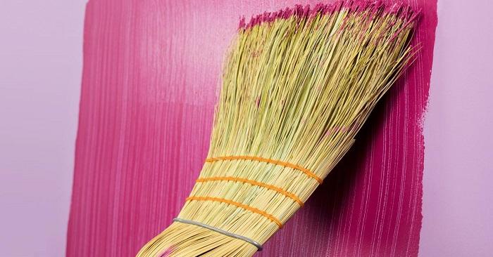 идеи покраски стен в полоску