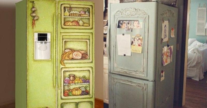 декор холодильника мастер класс