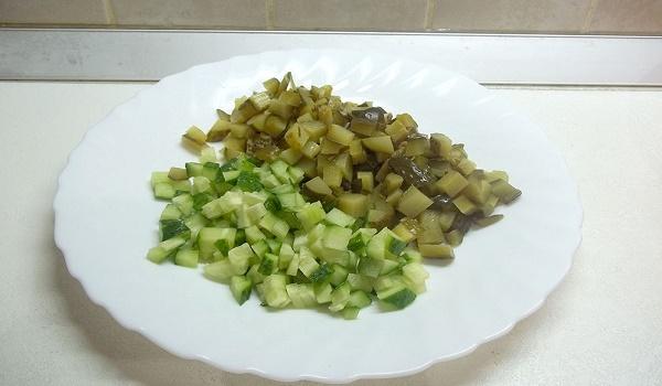 диетический оливье