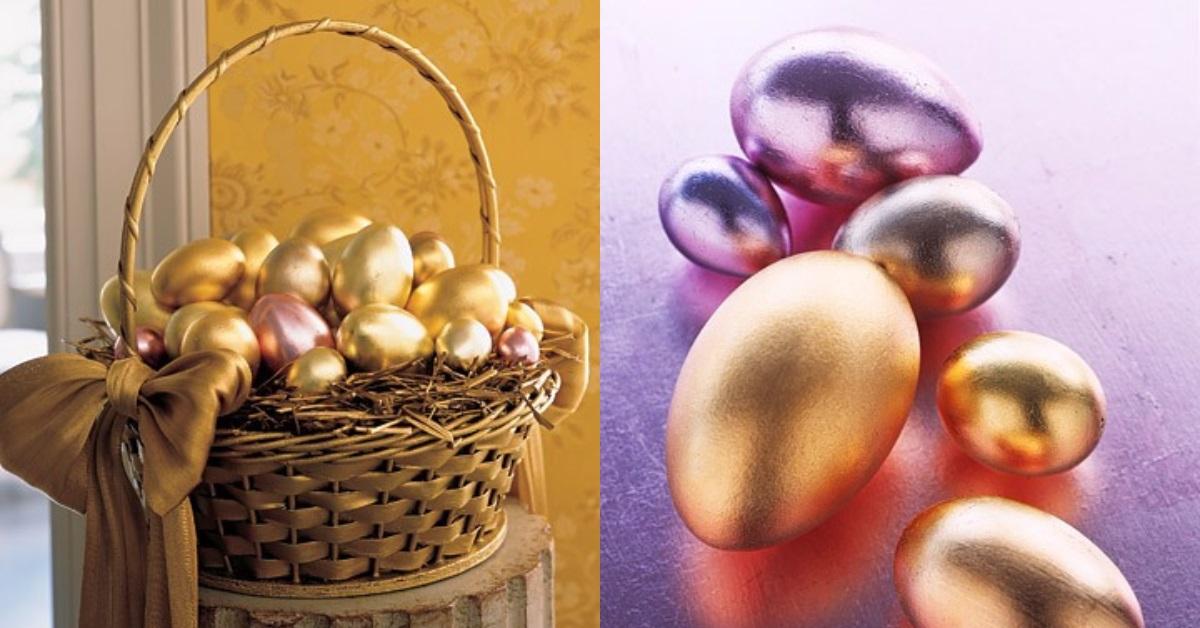пасхальные яйца декупаж