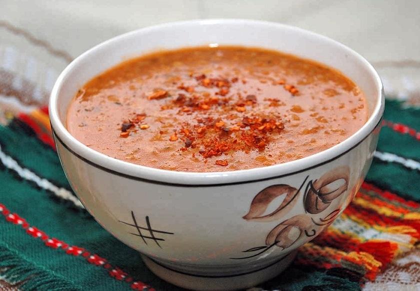 детокс-суп с чечевицей