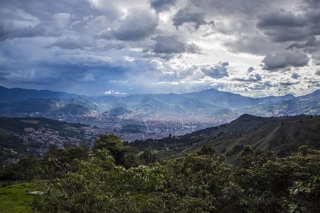 Kolumbia dovolenka