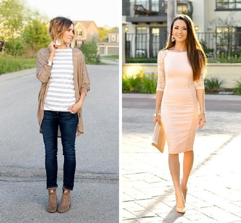 как одеваться женщине