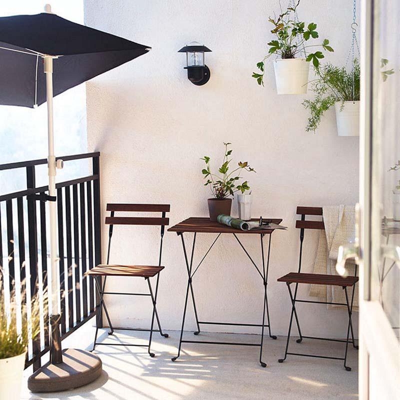 nápady na balkón dizajne
