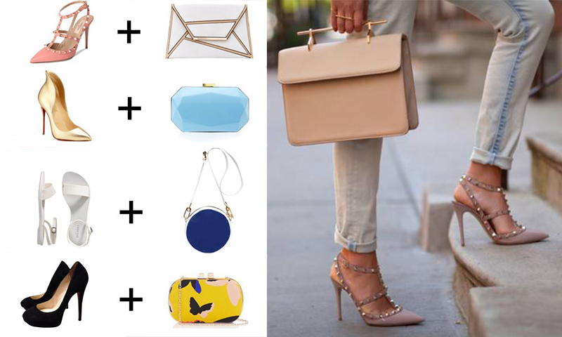 Kombinácia tašky a obuvi v roku 2017