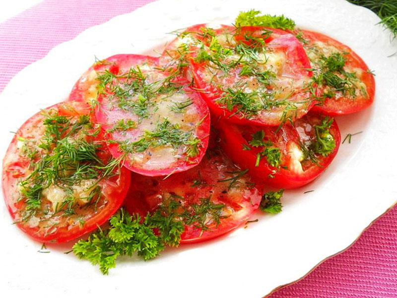 marinované paradajky