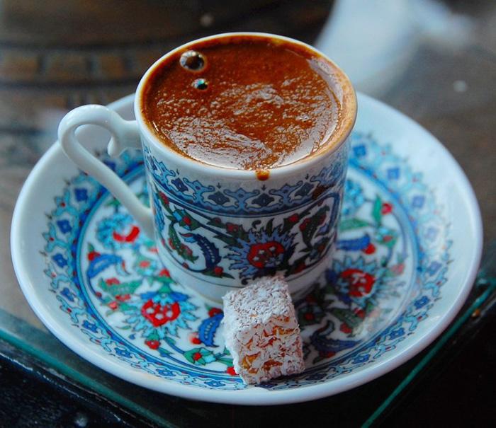 кофе по-турецки с пенкой