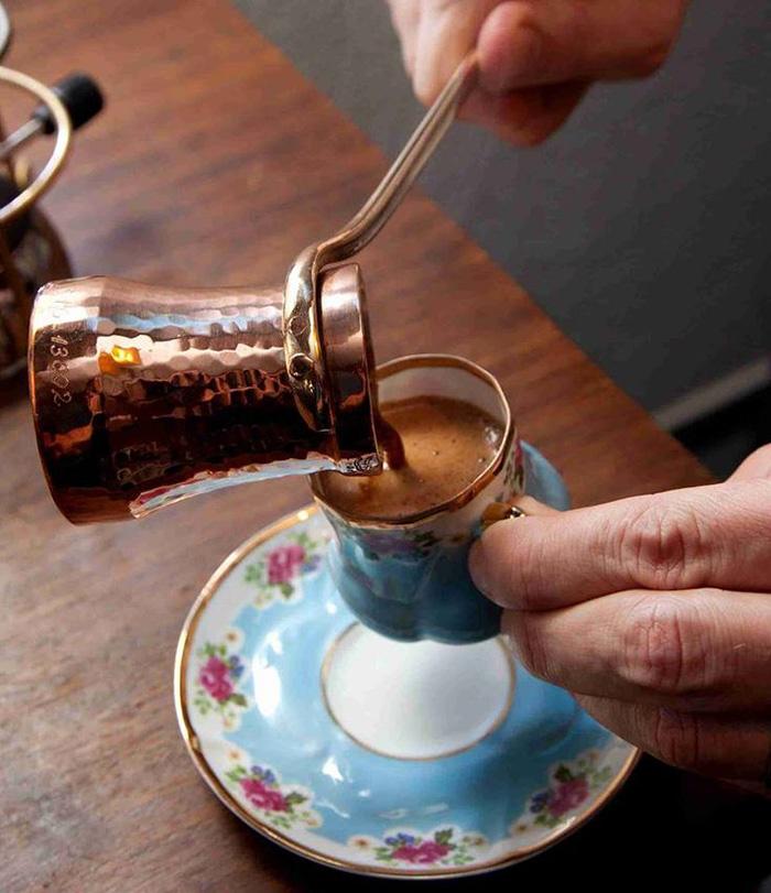 кофе по-турецки с солью