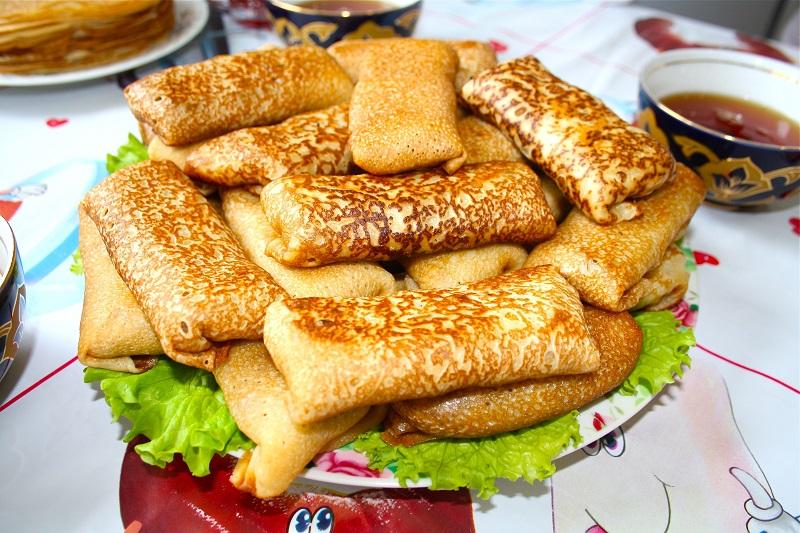 блинчики с куриной печенью рецепт
