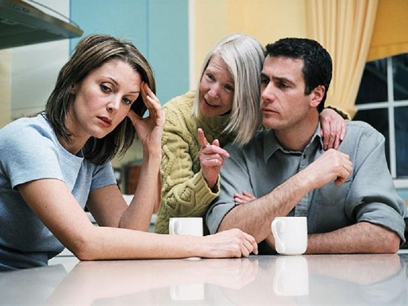 что делать если родственники мужа бесят
