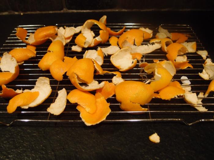 mandarínková kôra