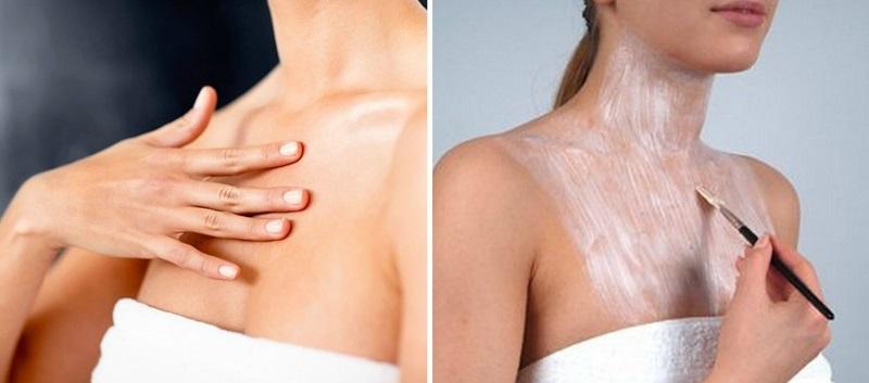 маски для увядающей кожи шеи и декольте