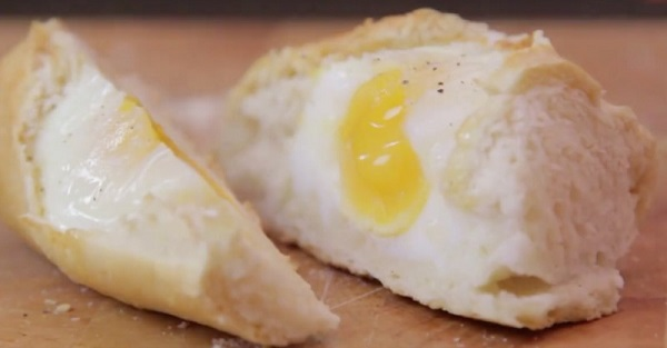 vajíčka v Baton