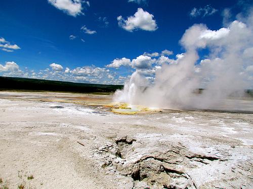Super Volcano fotografia