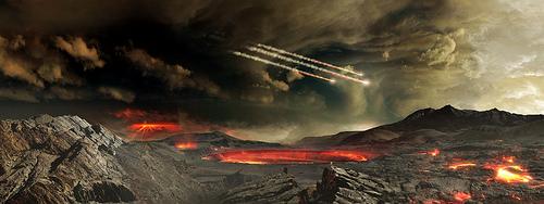 Asteroid Impact fotografia