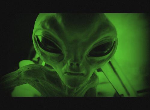 Aliens fotografia