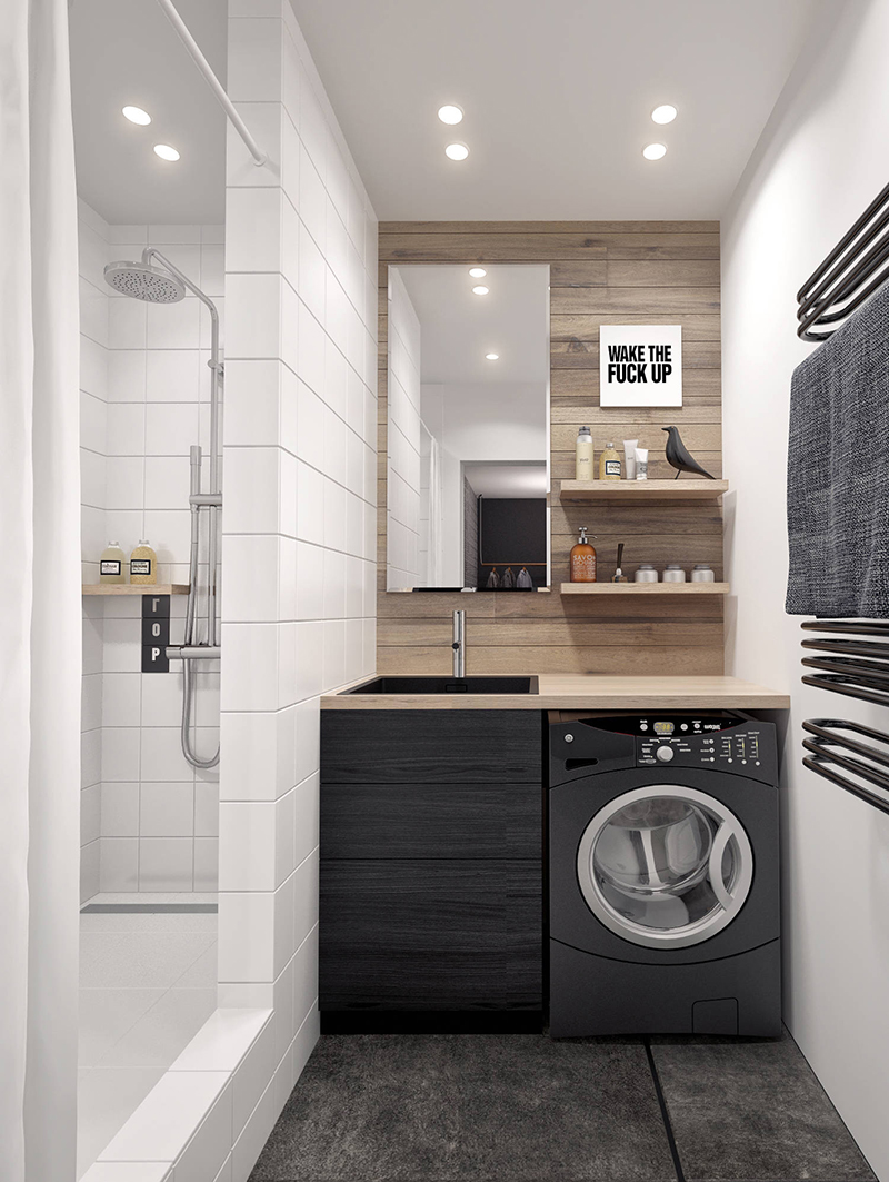 дизайн ванной комнаты в английском стиле