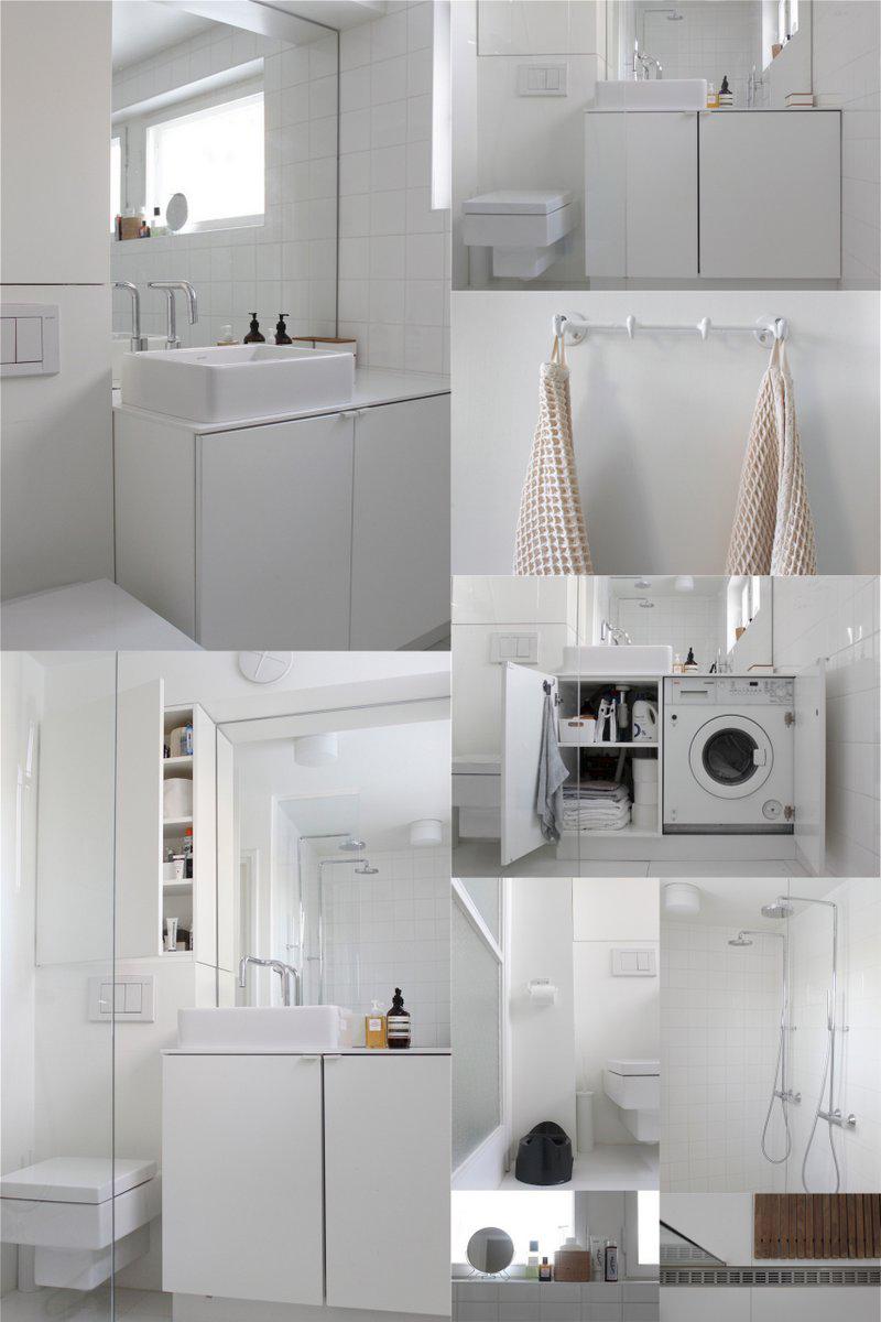 дизайн крохотной ванной комнаты