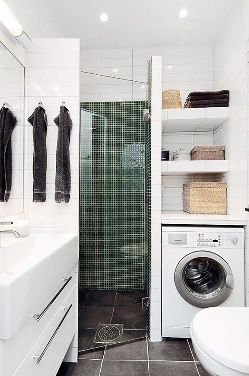 Ako vlo i pr ku do malej k pe ne nepotrebujete k tomu ani bytov ho archite - Salle de bain italienne petite surface ...