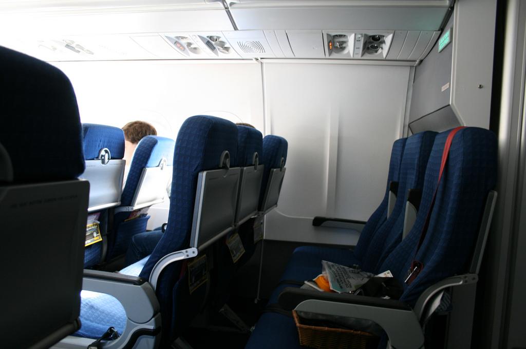 plane seats fotografia