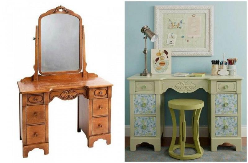 zmena nábytok zo starého do nového