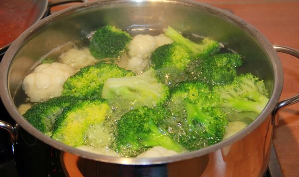 запеканка из капусты с брокколи