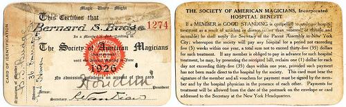 Society of American Magicians fotografia