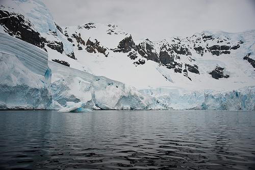 glaciers antarctica fotografia