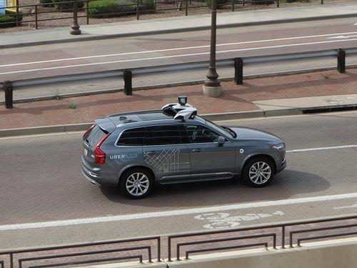 self-driving car fotografia