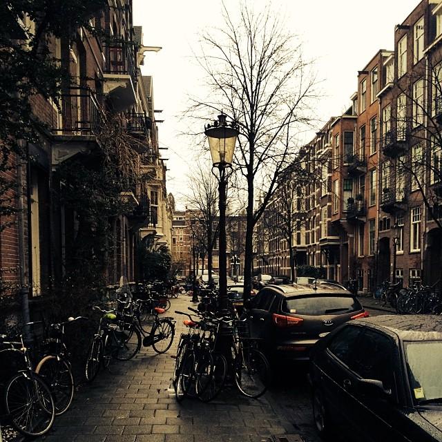 Amsterdamské bicykle