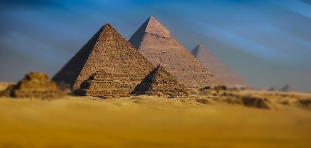 pyramids fotografia