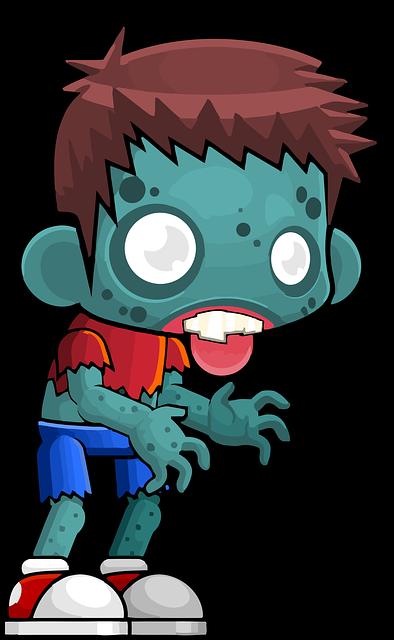 zombie fotografia