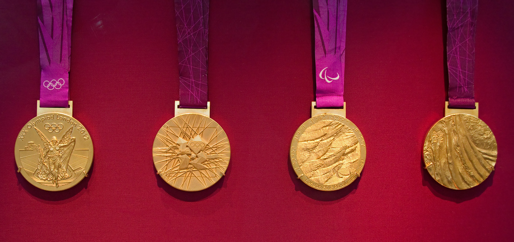 olympic gold medal fotografia
