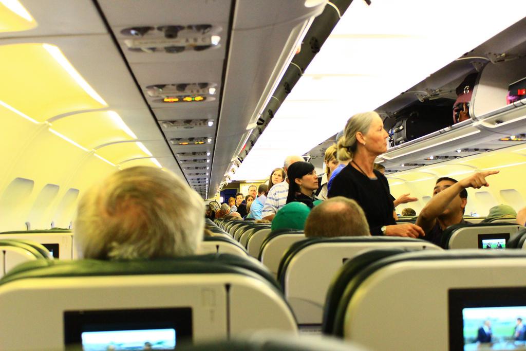 plane seat fotografia